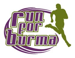Burma Humanitarian Mission Run Logo