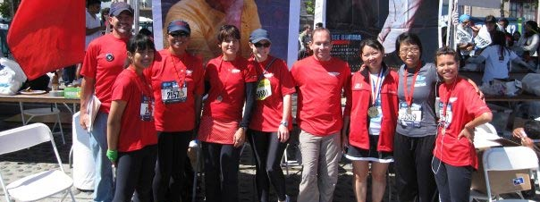 Burma Humanitarian Mission Running Team